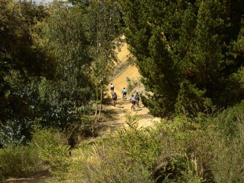 Suesca Cundinamarca gravel roads cycling