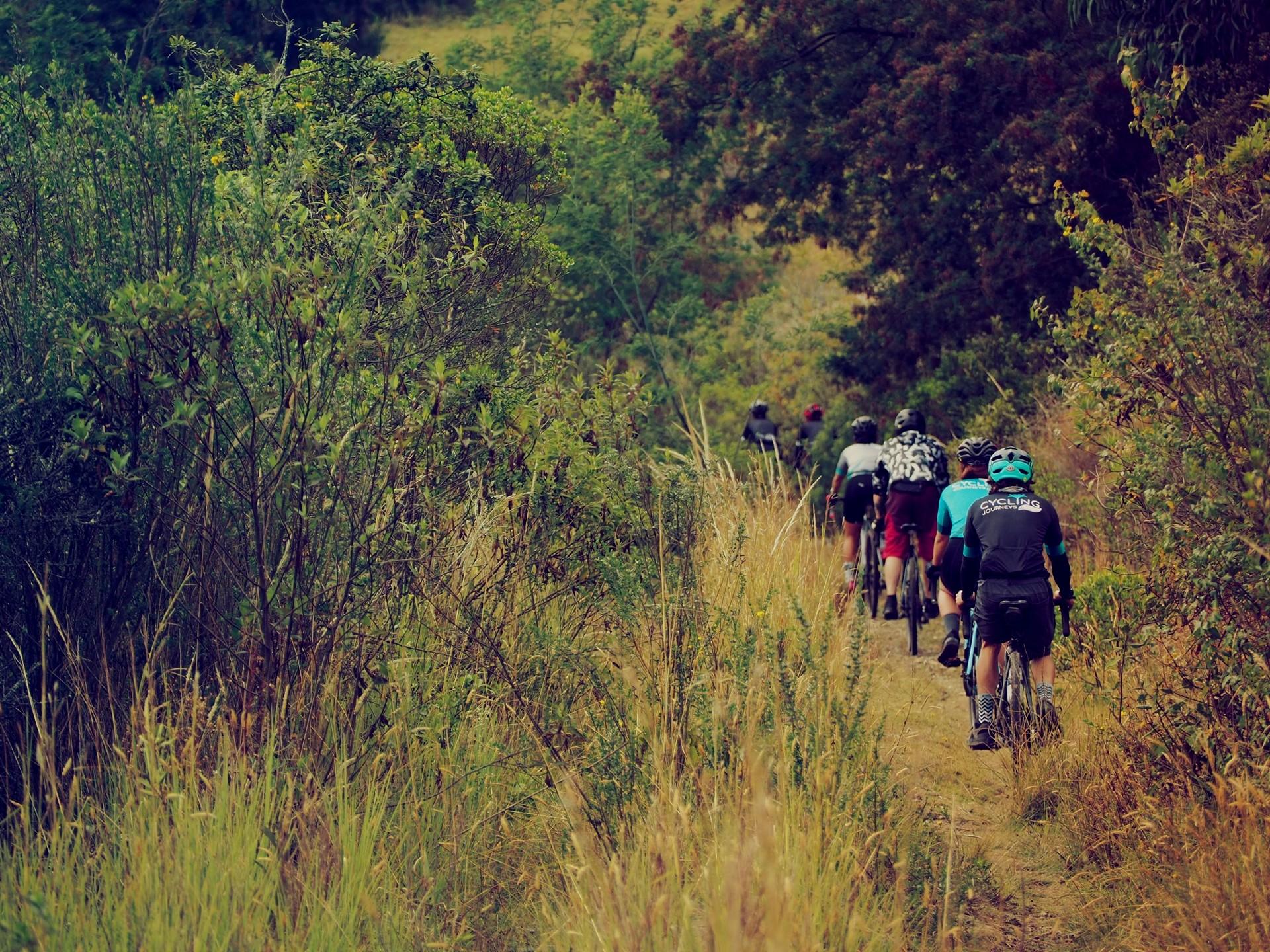 Suesca cundinamarca gravel bike trip