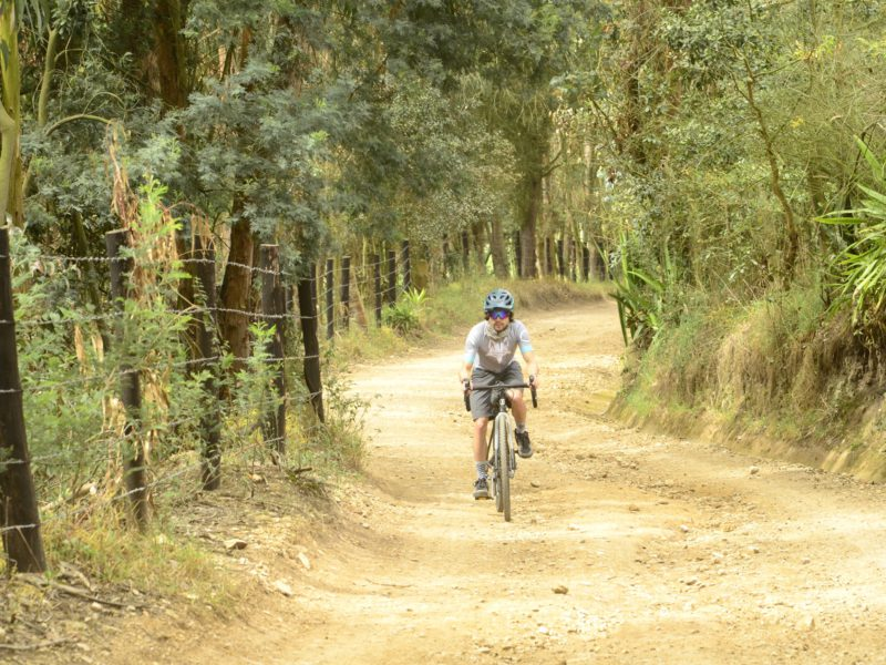 cycling gravel roads colombia andes