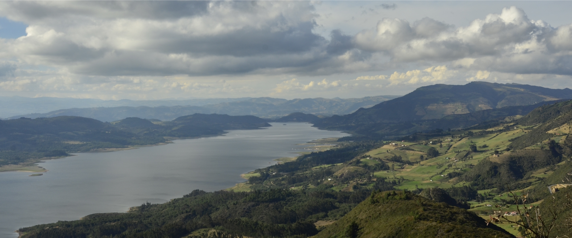 Cycling trip Guatavita Andes Colombia - Superior