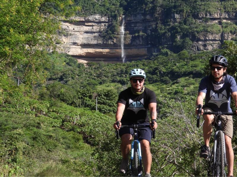 Salto de la paramera Cabrera Santander Cycling Journeys